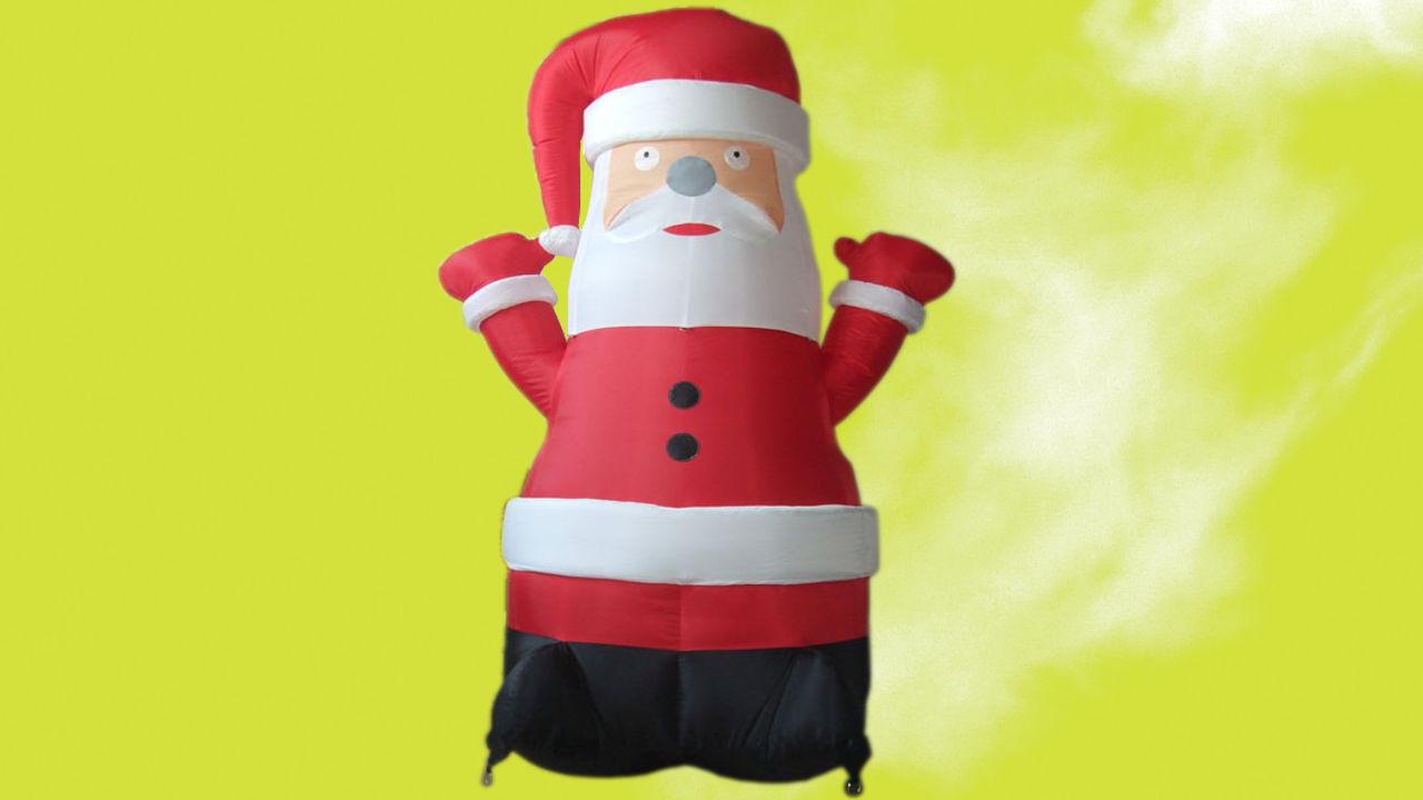 aufblasbaren weihnachtsmann mieten mainzair aufblasbare formen